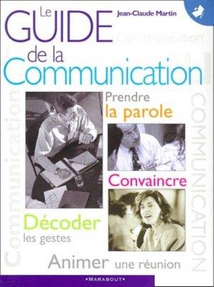 Le guide de la communication - Marabout - 9782501032292 -