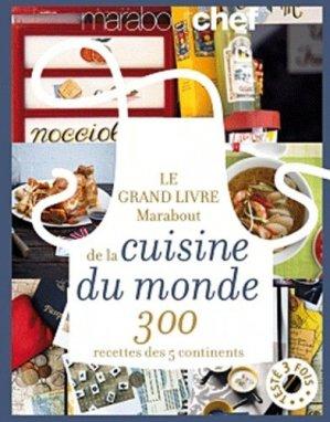 Le grand livre marabout de la cuisine du monde - Marabout - 9782501073899 -
