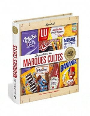 Le grand livre des marques cultes - Marabout - 9782501081405 -