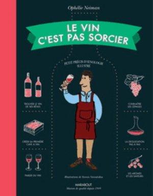 Le vin c'est pas sorcier - marabout - 9782501087377 -