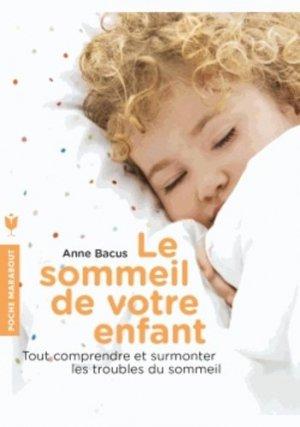 Le sommeil de votre enfant - marabout - 9782501089869 -
