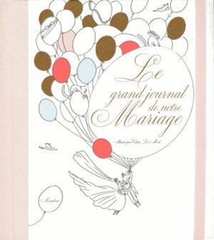Le grand journal de notre mariage - Marabout - 9782501113281 -