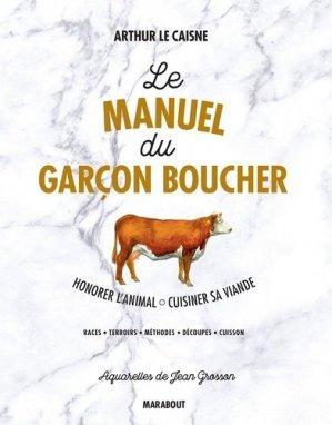 Le manuel du garçon boucher - marabout - 9782501115308 -