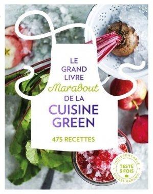 Le grand livre Marabout de la cuisine green - marabout - 9782501118835 -