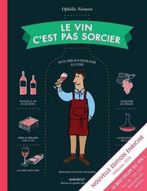 Le vin c'est pas sorcier - marabout - 9782501121798 -