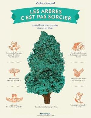 Les arbres, c'est pas sorcier - marabout - 9782501140973 -