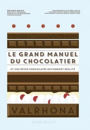 Le grand manuel du chocolatier - marabout - 9782501144940 -