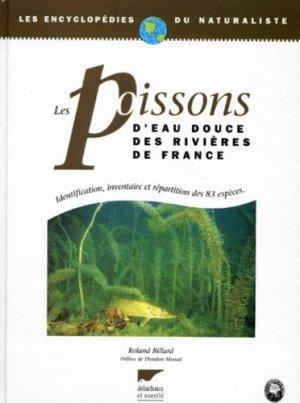 Les poissons d'eau douce des rivières de France - delachaux et niestle - 9782603010464 -