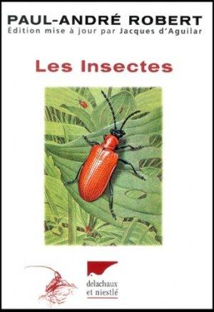 Les insectes - delachaux et niestle - 9782603012246 -