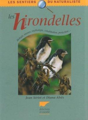 Les hirondelles - delachaux et niestle - 9782603012819 -