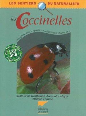 Les coccinelles - delachaux et niestle - 9782603013281 -