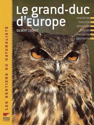 Le grand-duc d'Europe - delachaux et niestle - 9782603013458 -