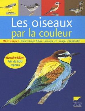 Les oiseaux par la couleur - delachaux et niestle - 9782603014196 -