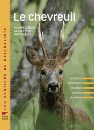 Le chevreuil - delachaux et niestle - 9782603018231 -