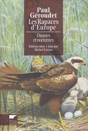 Les rapaces d'Europe - delachaux et niestle - 9782603019580