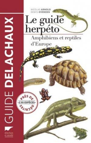Le guide herpéto - delachaux et niestle - 9782603020616 -