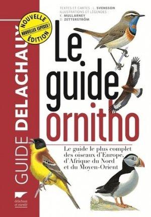 Le guide Ornitho - delachaux et niestle - 9782603023938 -