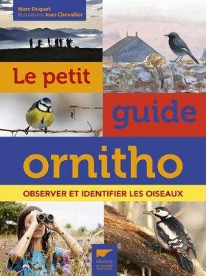 Le petit guide ornitho - delachaux et niestlé jeunesse - 9782603024157 -
