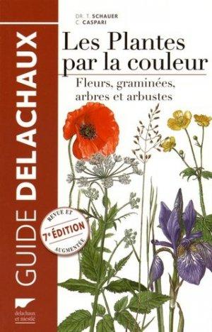 Les plantes par la couleur - delachaux et niestle - 9782603024492 -