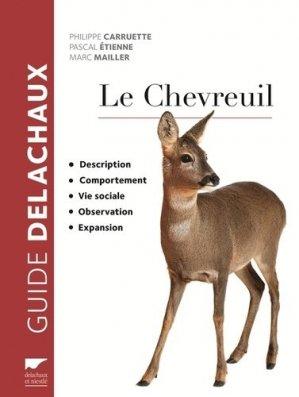 Le Chevreuil - delachaux et niestle - 9782603024768 -