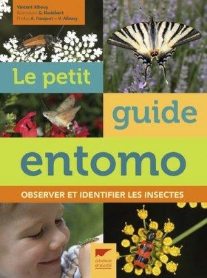 Le Petit Guide d'entomo - delachaux et niestle - 9782603024959 -