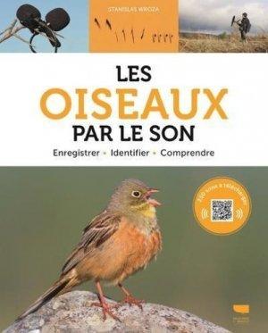 Les oiseaux par le son - delachaux et niestlé - 9782603026540 -