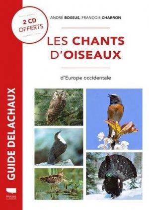 Les Chants d'Oiseaux d'Europe Occidentale - delachaux et niestle - 9782603027684 -