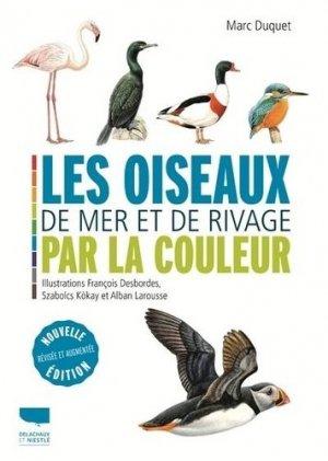 Les oiseaux de mer et de rivage par la couleur - Delachaux et Niestlé - 9782603028384 -