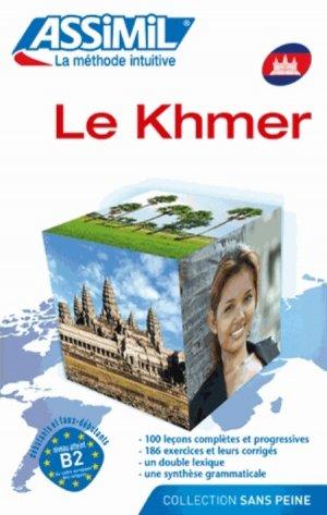 Le Khmer - Débutants et Faux-débutants - assimil - 9782700504118 -