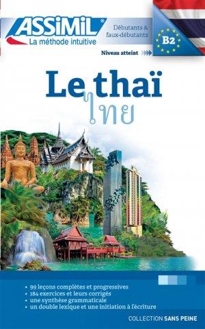 Le Thaï - Débutants et Faux-débutants - assimil - 9782700505764 -