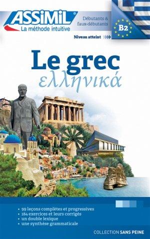 Le Grec - Débutants et Faux-débutants - assimil - 9782700506204 -