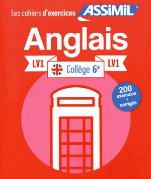 Les Cahiers d'Exercices Anglais 6e LV1 - assimil - 9782700507379 -