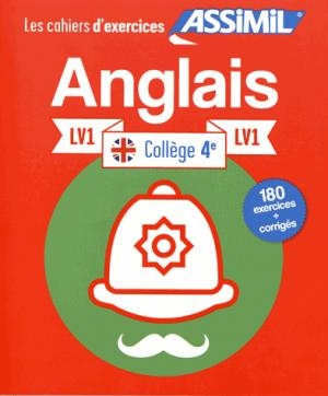 Les Cahiers d'Exercices Anglais 4e LV1 - assimil - 9782700507393 -