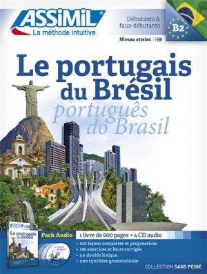 Pack CD - Le Portugais du Brésil - Portugês do Brasil - Débutants et Faux-débutants - assimil - 9782700518047 -