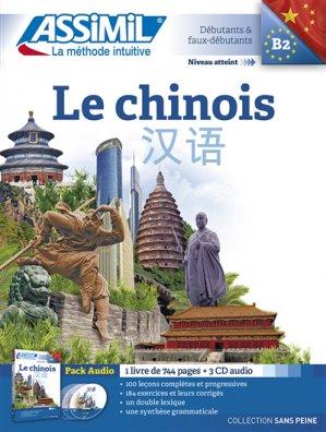 Pack CD Assimil - Le Chinois - Débutants et Faux-débutants - assimil - 9782700518146 -