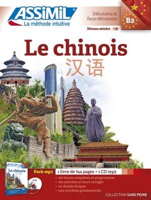 Pack MP3 - Le Chinois - Débutants et Faux-débutants - assimil - 9782700570809 -