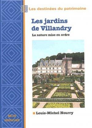 Les jardins de Villandry - belin - 9782701125572 -