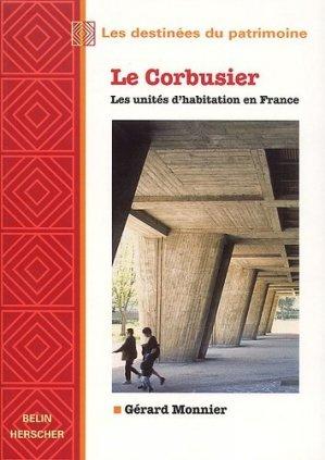 Le Corbusier - belin - 9782701125770 -