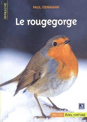 Le rougegorge - belin / éveil nature - 9782701137841 -