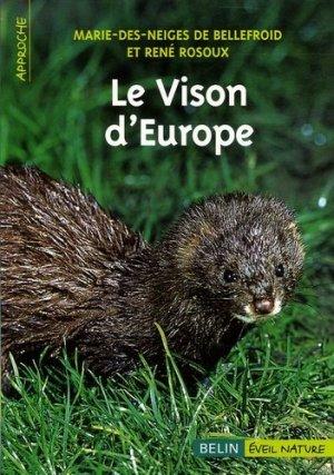 Le vison d'Europe - Belin - 9782701141473 -