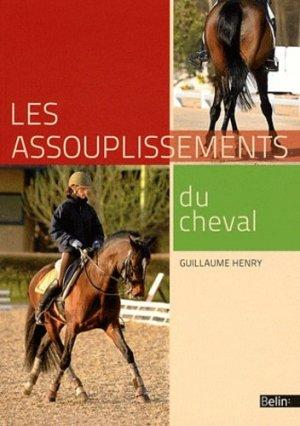 Les assouplissements du cheval - belin - 9782701157849 -