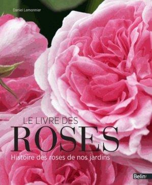 Le livre des roses - belin - 9782701176680 -