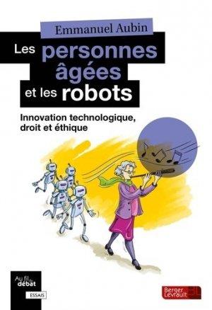 Les personnes âgées et les robots - berger levrault - 9782701321417 -