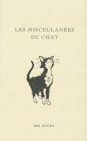Les miscellanées du chat - Le Courrier du Livre - 9782702907887 -