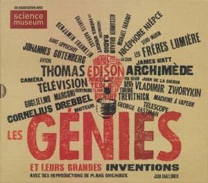 Les génies et leurs grande inventions - le courrier du livre - 9782702915622 -