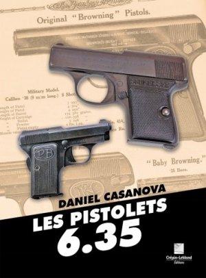 Les pistolets 6.35 - crepin leblond - 9782703004363 -