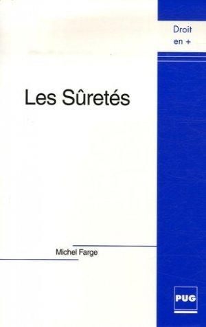 Les Sûretés - Presses Universitaires de Grenoble - 9782706113895 -