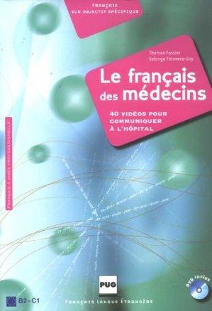 Le français des médecins - PUG - 9782706114328 -