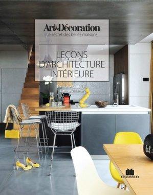Leçons d'architecture d'intérieure - massin - 9782707210050