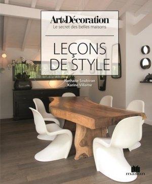 Leçons de style - massin - 9782707210227